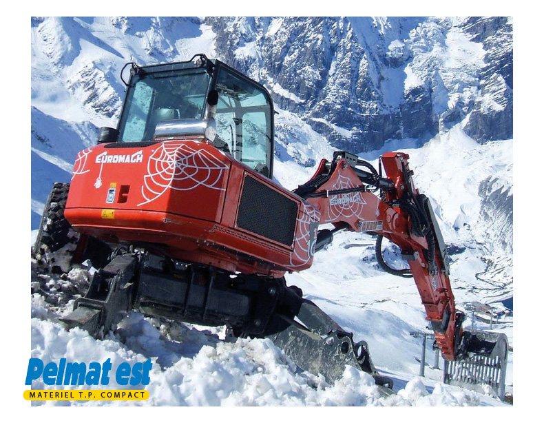 EUROMACH 105 4X2 ou 4X4, BIG FOOT ou FORESTER