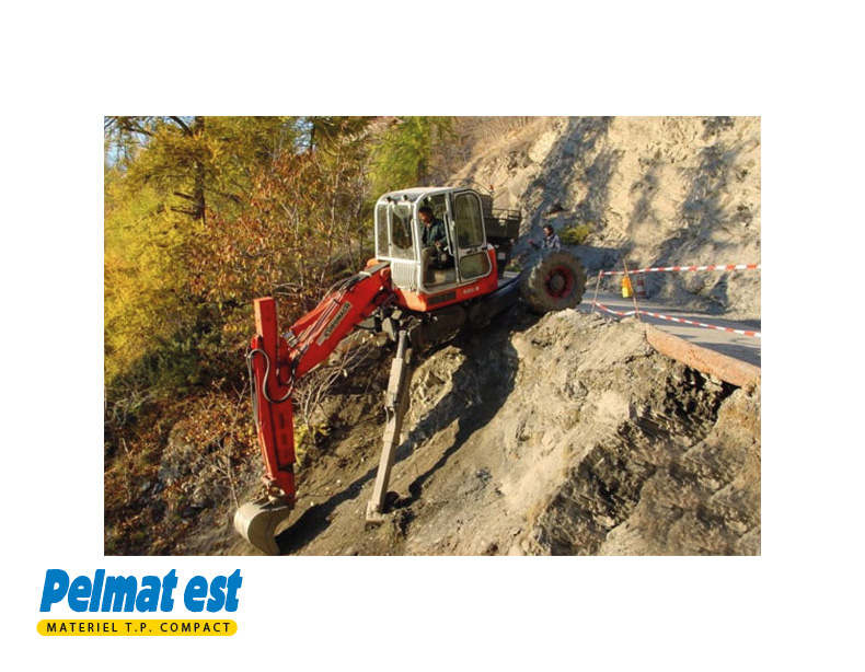 EUROMACH 85 4X2 ou 4X4, BIG FOOT ou FORESTER