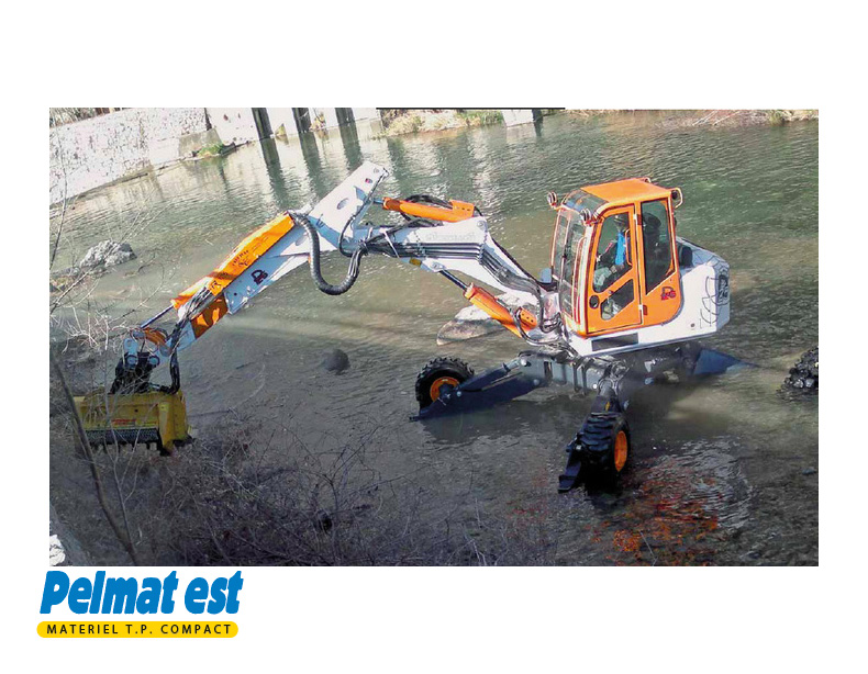 EUROMACH 125 4X2 ou 4X4, BIG FOOT ou FORESTER